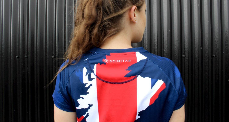 Great Britain Union Jack Running T-Shirt